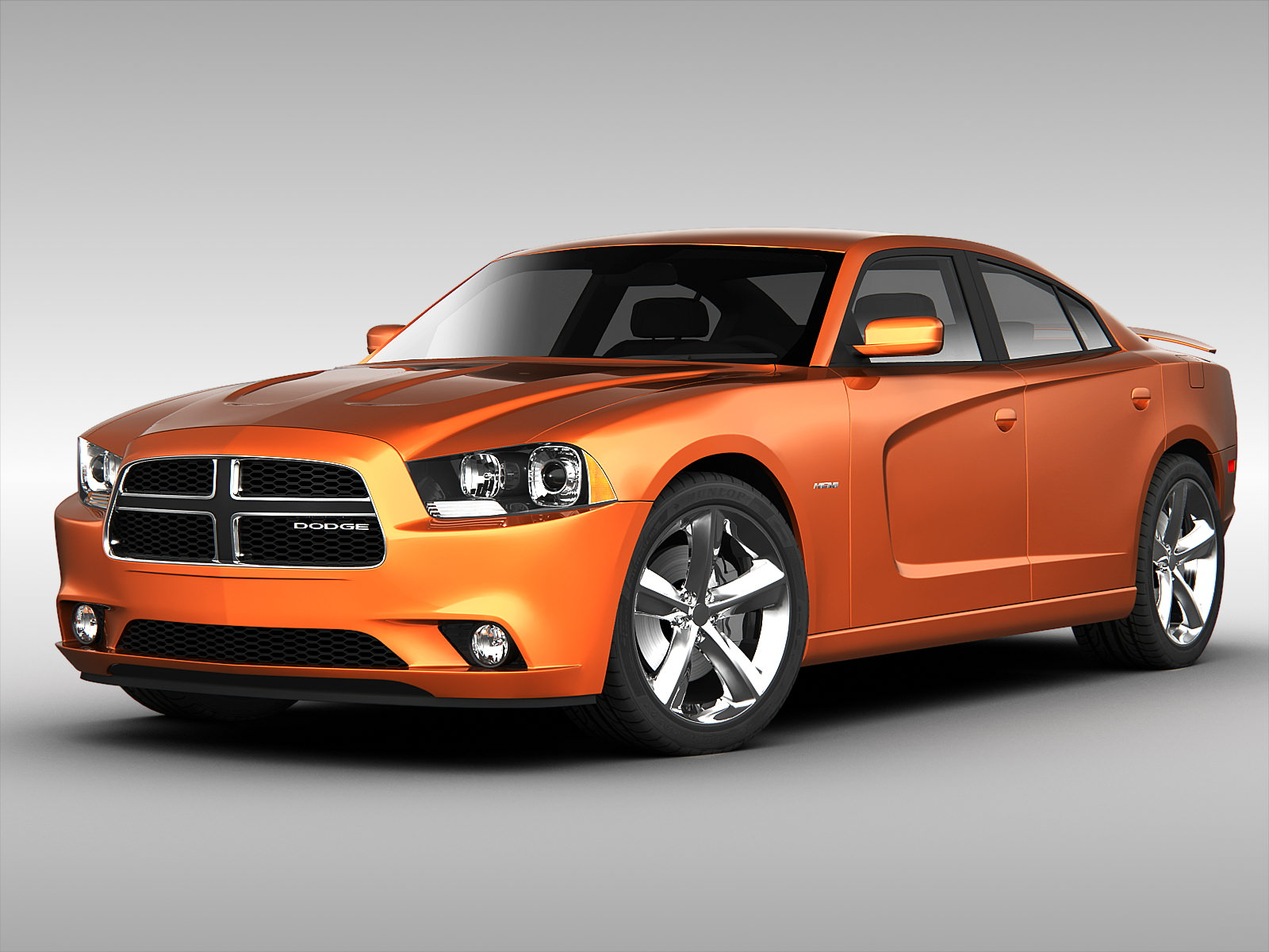 3d dodge charger 2013 | cgtrader