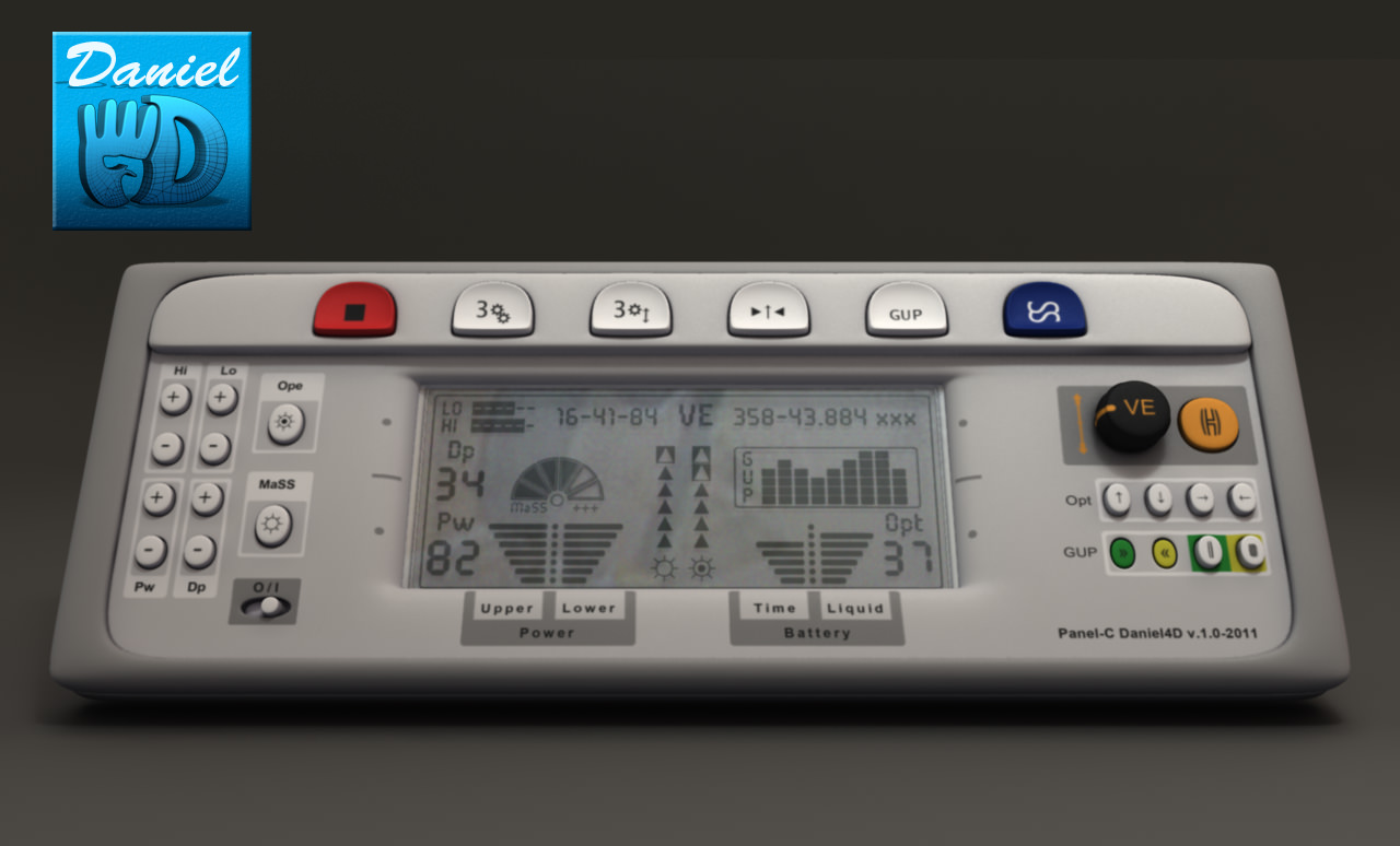 3D model Electric Control Panel - OBJ   CGTrader