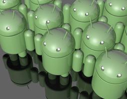 android mascot 3d model max