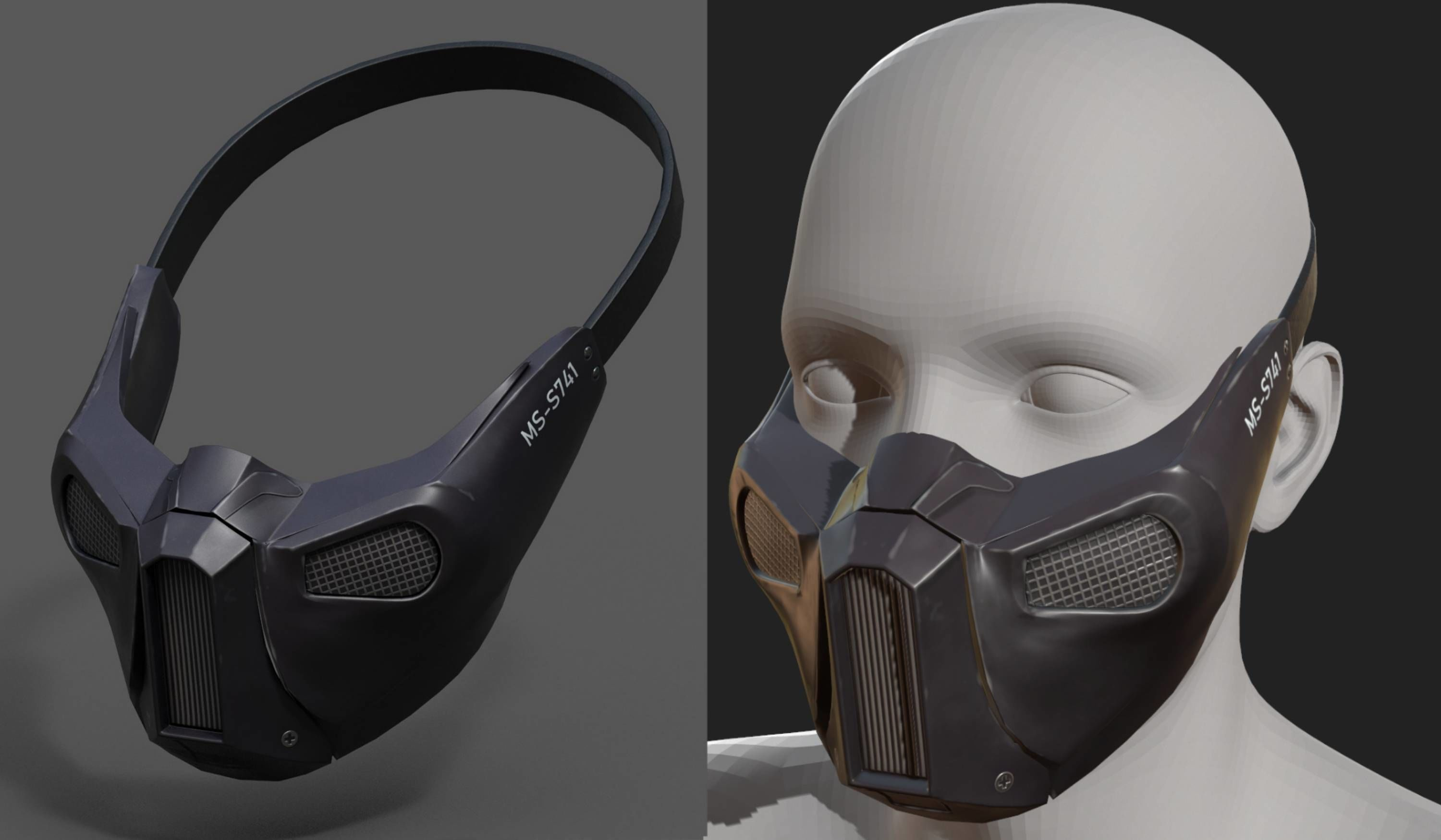 Gas mask helmet protection pollution scifi fantasy
