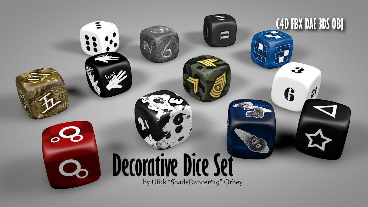 Creative Dice Set