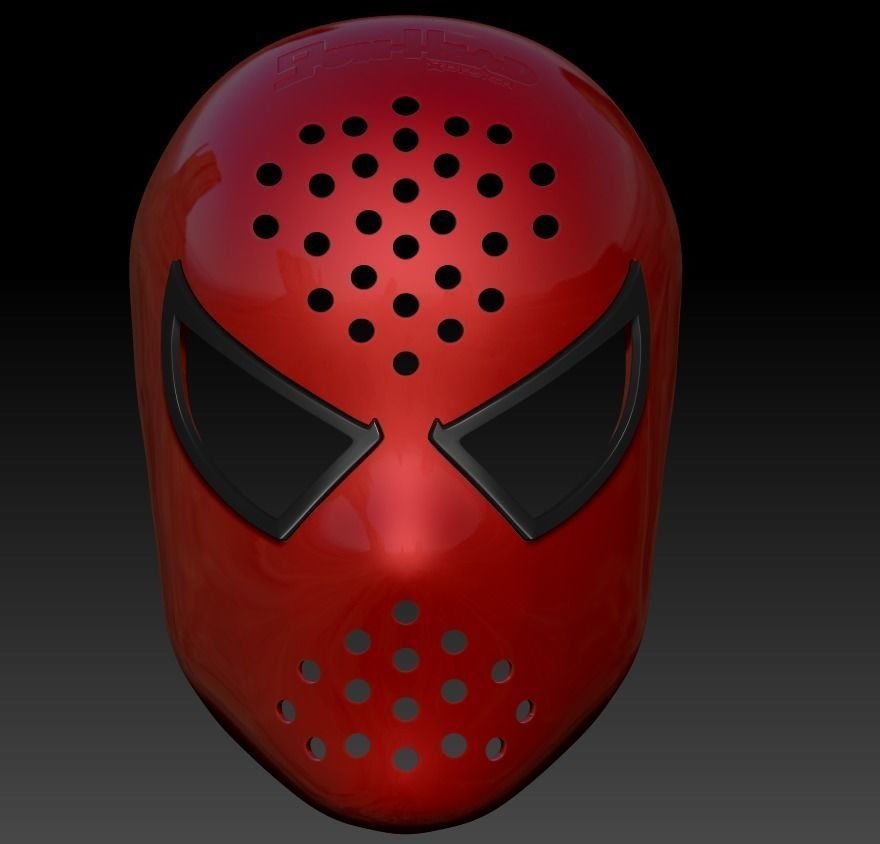 RAIMI SPIDER-MAN FACESHELL  LENSES 3D FILE