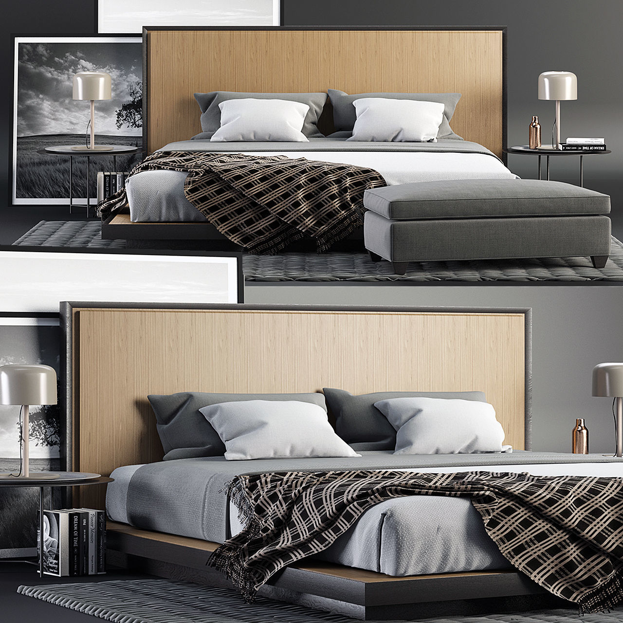 Envy King Bed SET