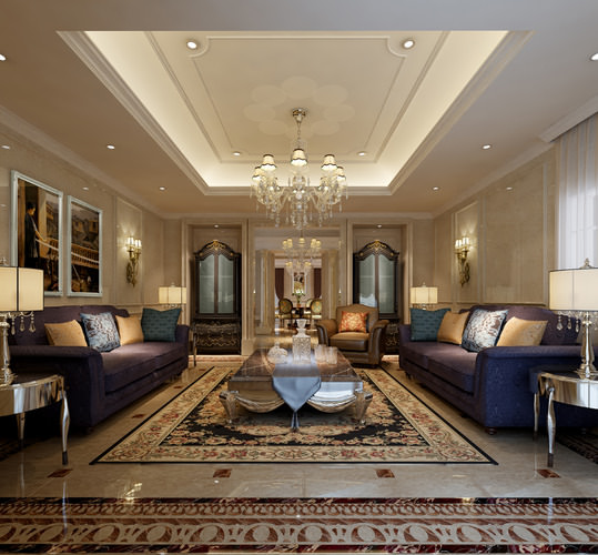gorgeous living rooms.  collection gorgeous living rooms 12 3d models model max tga Collection 3D Models