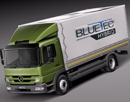 Mercedes-Benz Atego 2013 3D Model