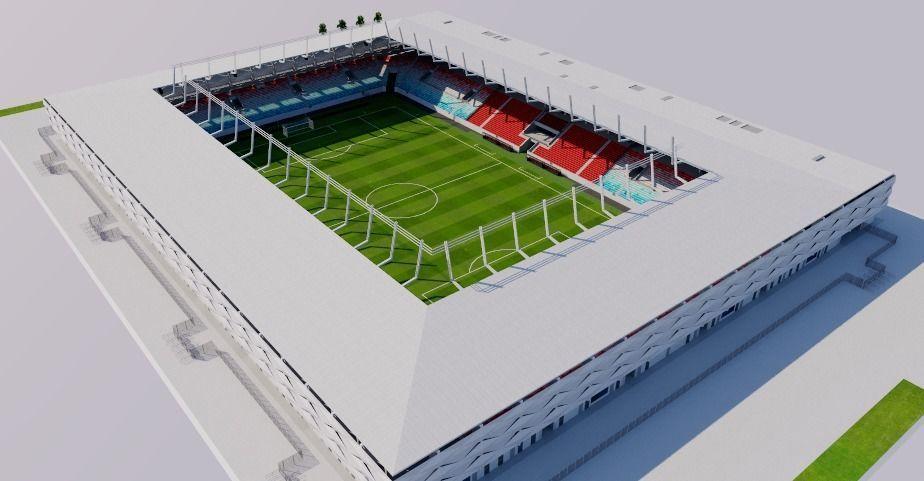 New National Stadium - Luxembourg