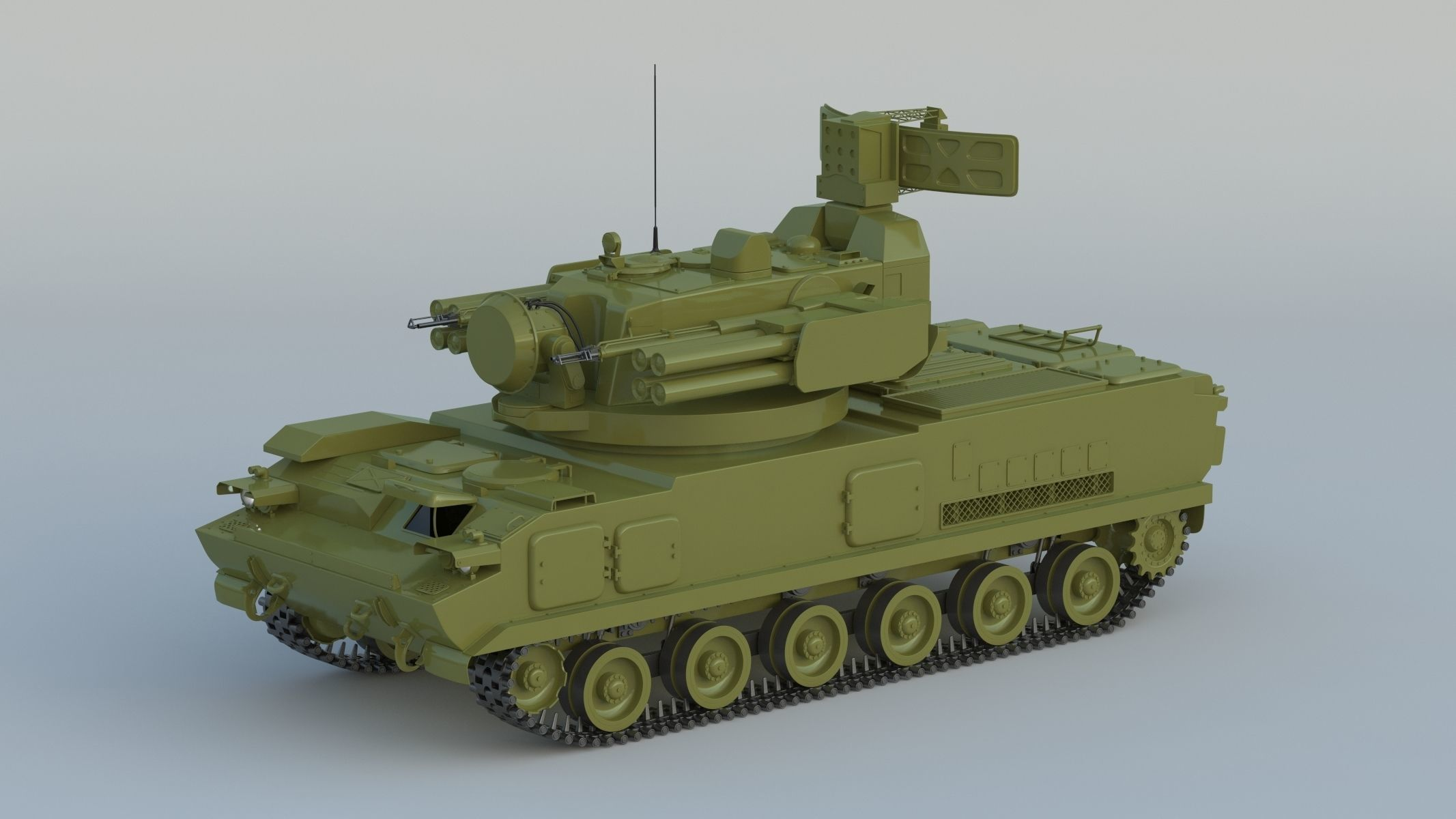 2K22 Tunguska SA-19 Grison