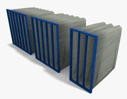 3D model Soft Bag Filter