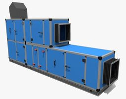 AHU - Air Handling Unit 3D