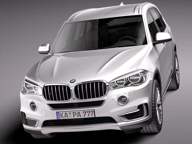 bmw x5 2014 3d model max obj 3ds fbx c4d lwo lw lws. Black Bedroom Furniture Sets. Home Design Ideas