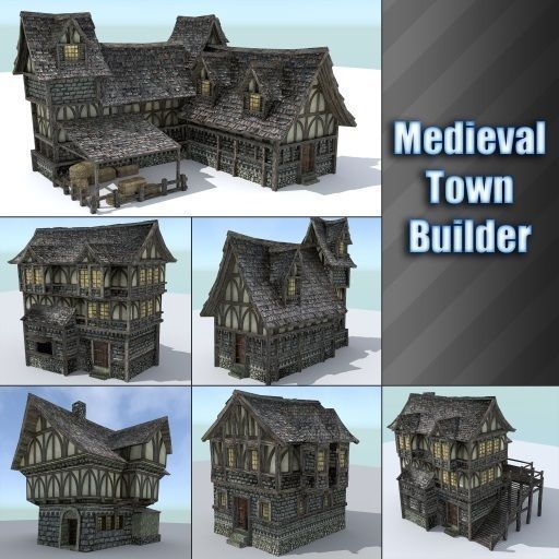 Medieval Town Builder