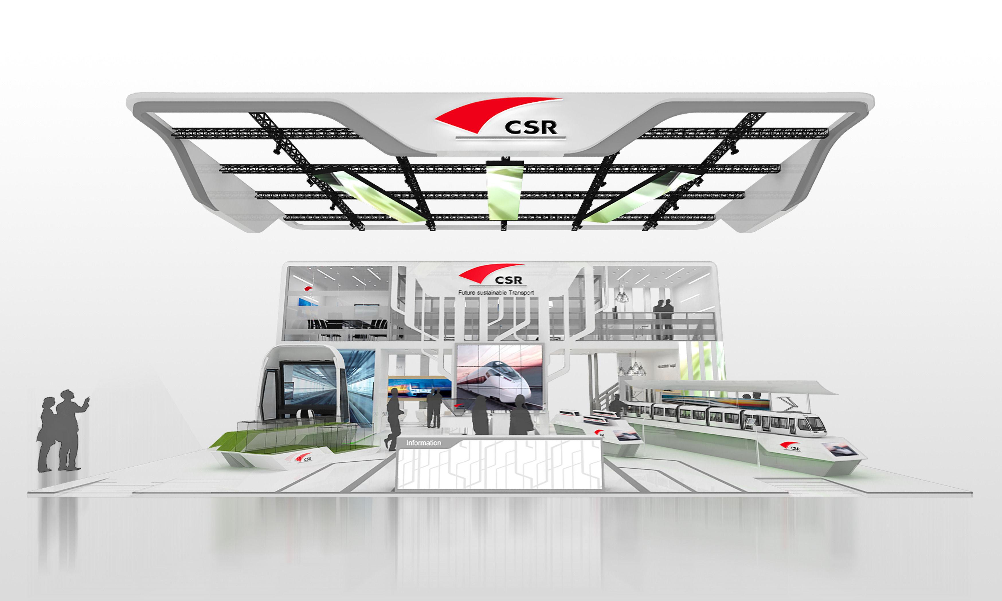 Exhibition area 18000mm X16500mm 3dmax2012