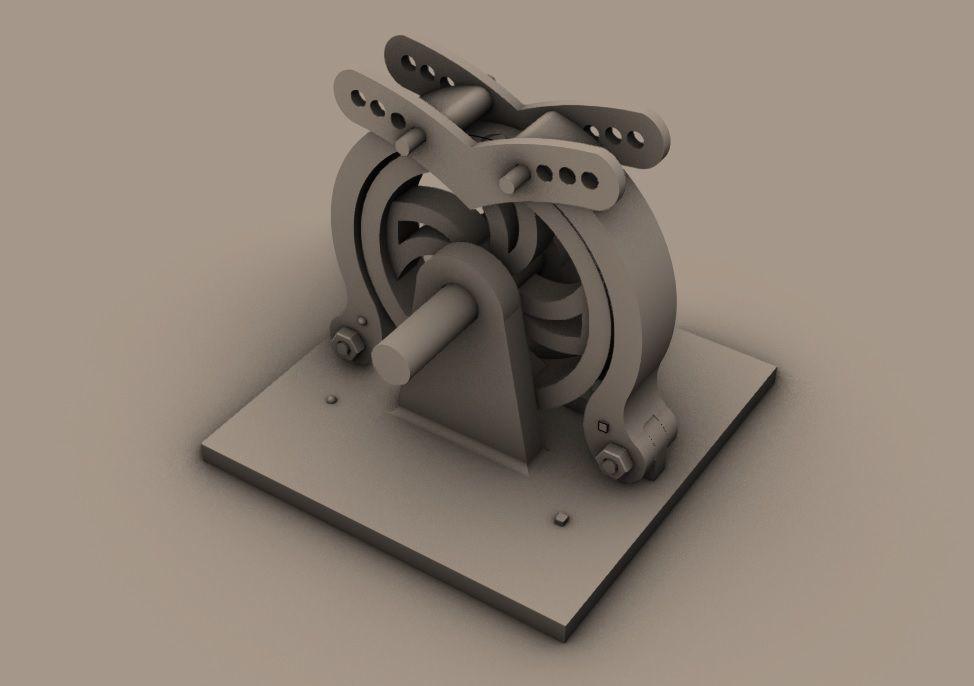 MAGNETIC GENERATOR FOR 3D PRINTING OF PLASTIC