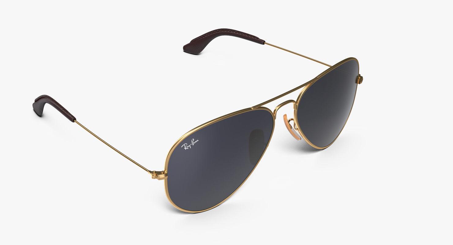 Classic Sunglasses Ray Ban Aviator Blue