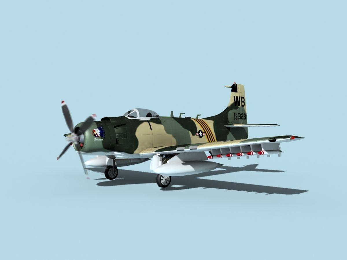 Douglas A-1H Skyraider V11 USAF