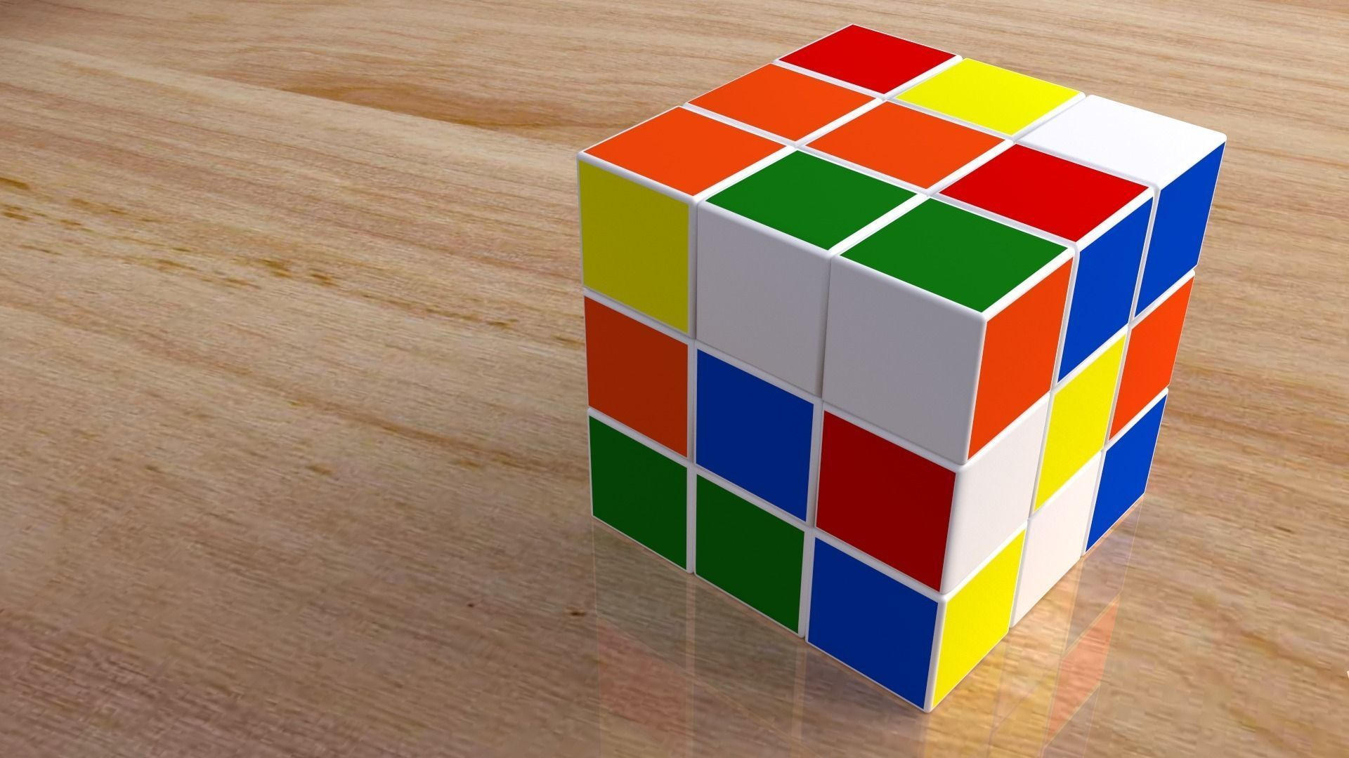toy rubiks cube 3d model | cgtrader