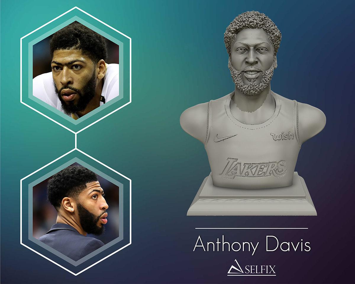 Anthony Davis sculpture model Ready to 3D Print