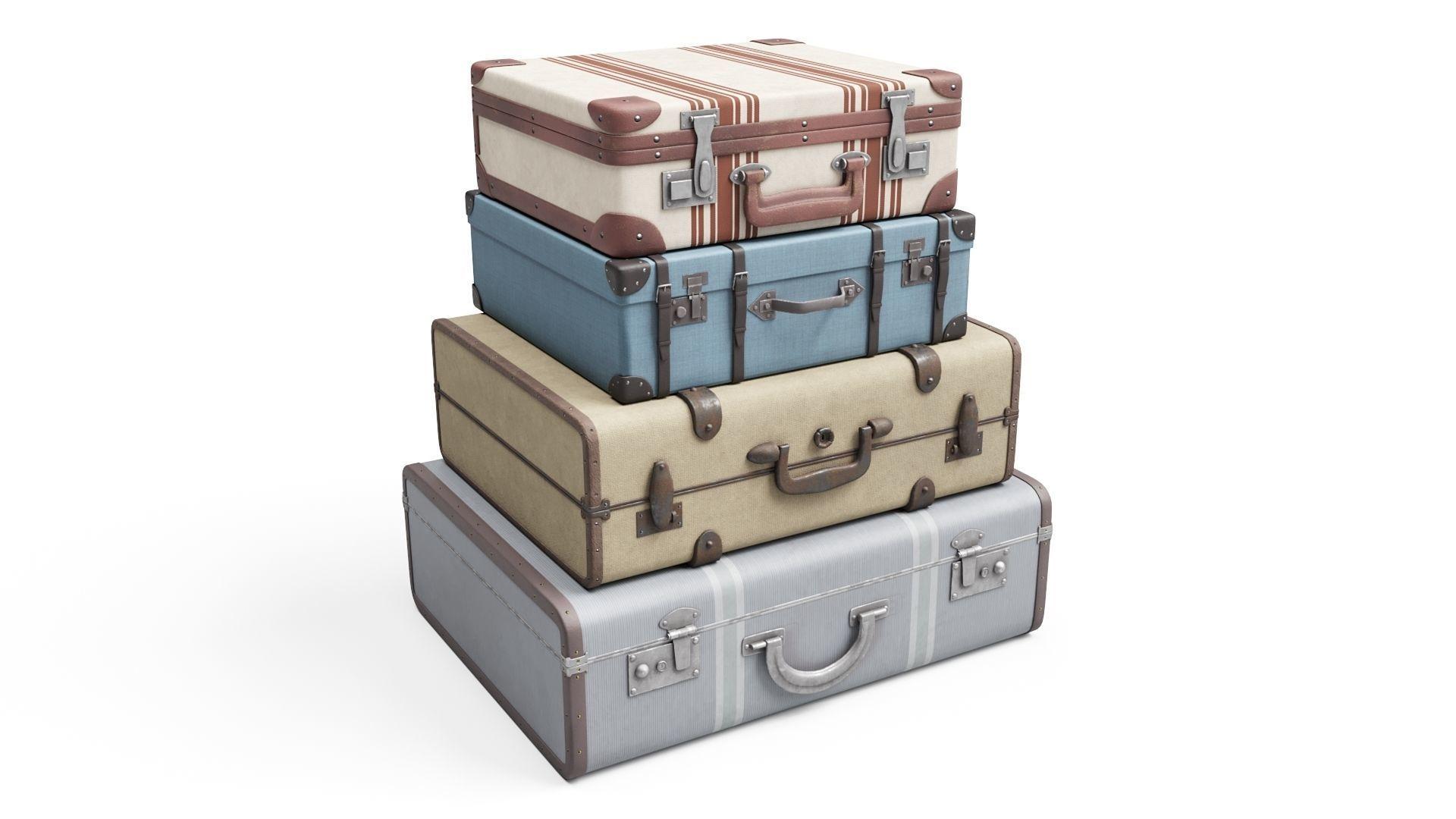Set of Vintage Suitcases