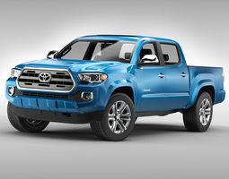 3D model Toyota Tacoma 2016