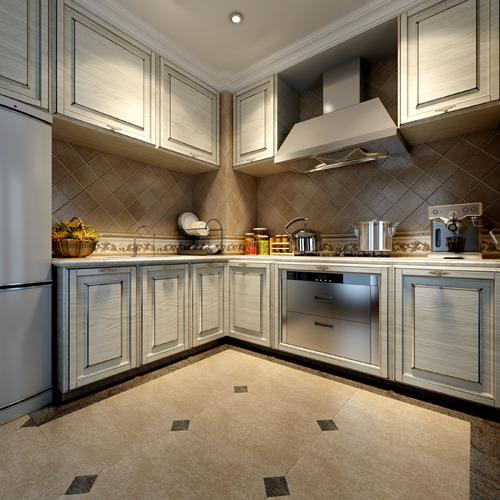 3d Max Kitchen Interior Design: Kitchens And Bathrooms Collection 10 3D Models 3D Model MAX