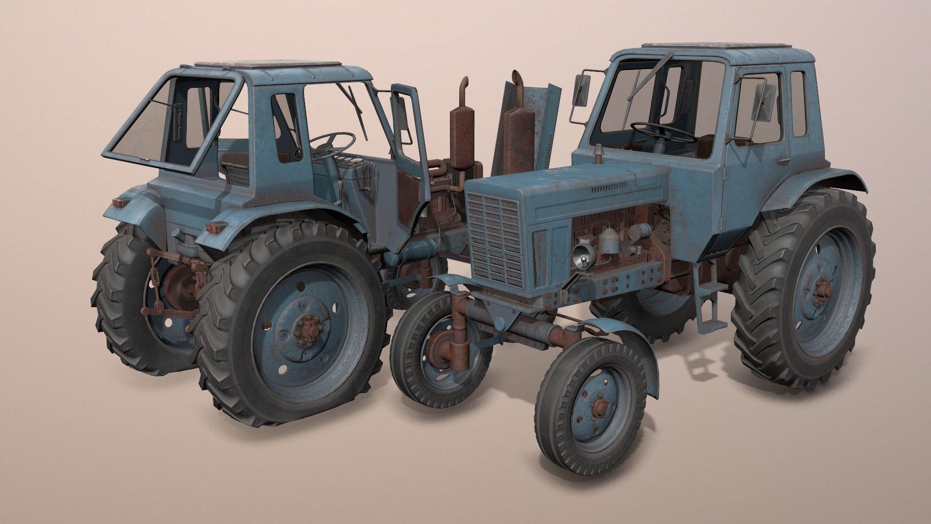 MTZ-80 tractor