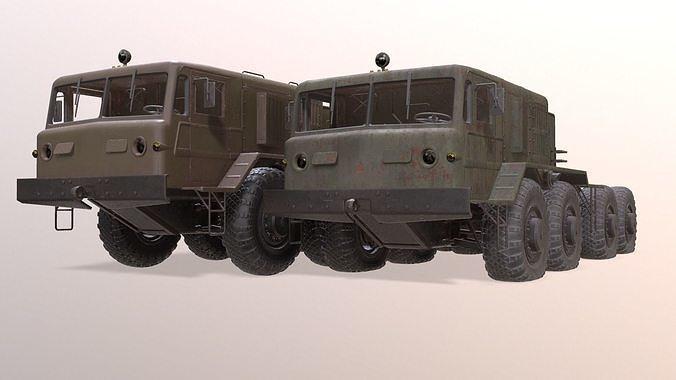 MAZ-537  military truck
