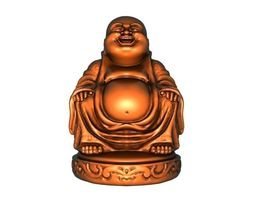 Maitreya figurine 3D printable model