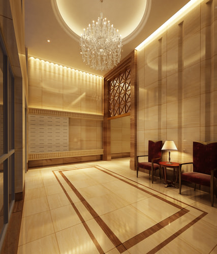 Hallway Interior Design Visualisations Hall Design: CGTrader