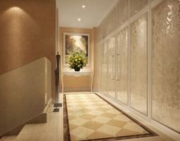 corridor 3d model
