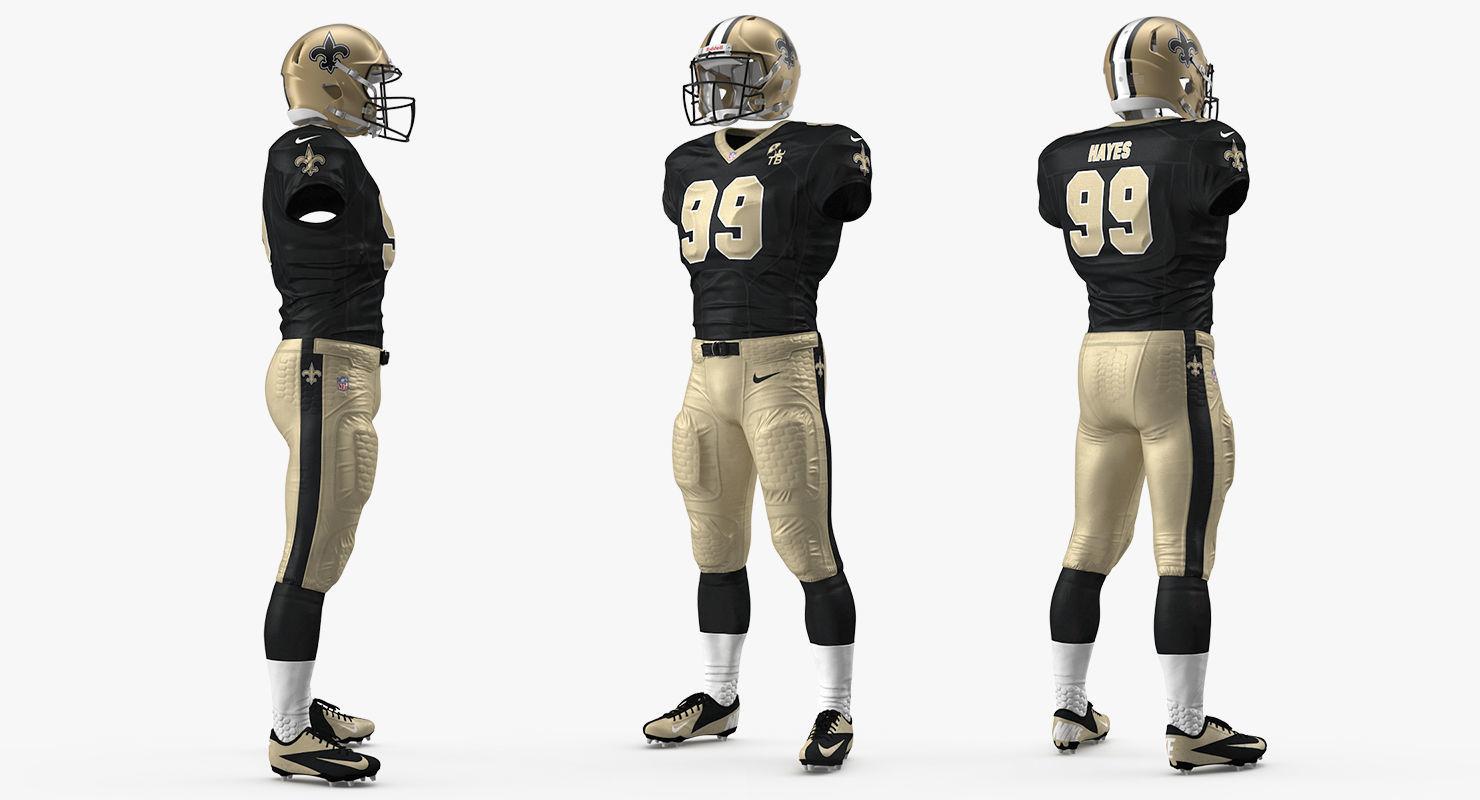 New Orleans Saints Player Uniform