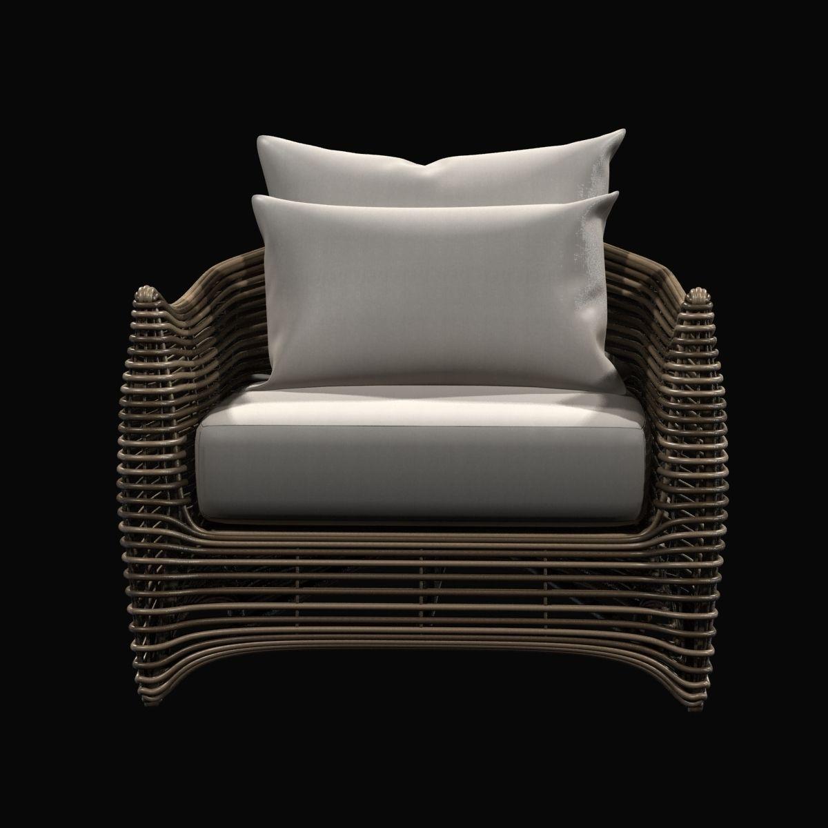 Innenarchitektur Lounge Outdoor Das Beste Von Artefacto St Bart Wicked Chair 3d Model