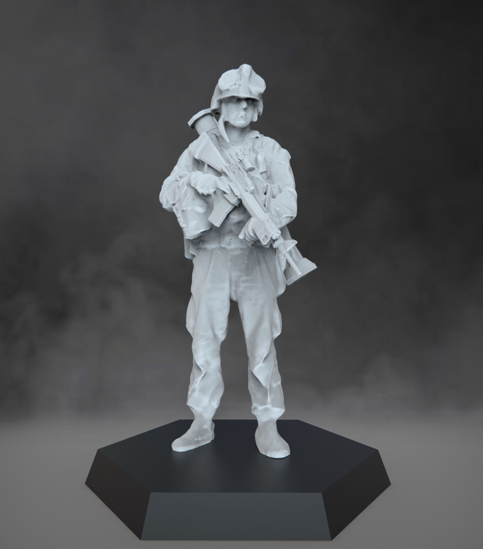 US Marine with grenade launcher - USMC