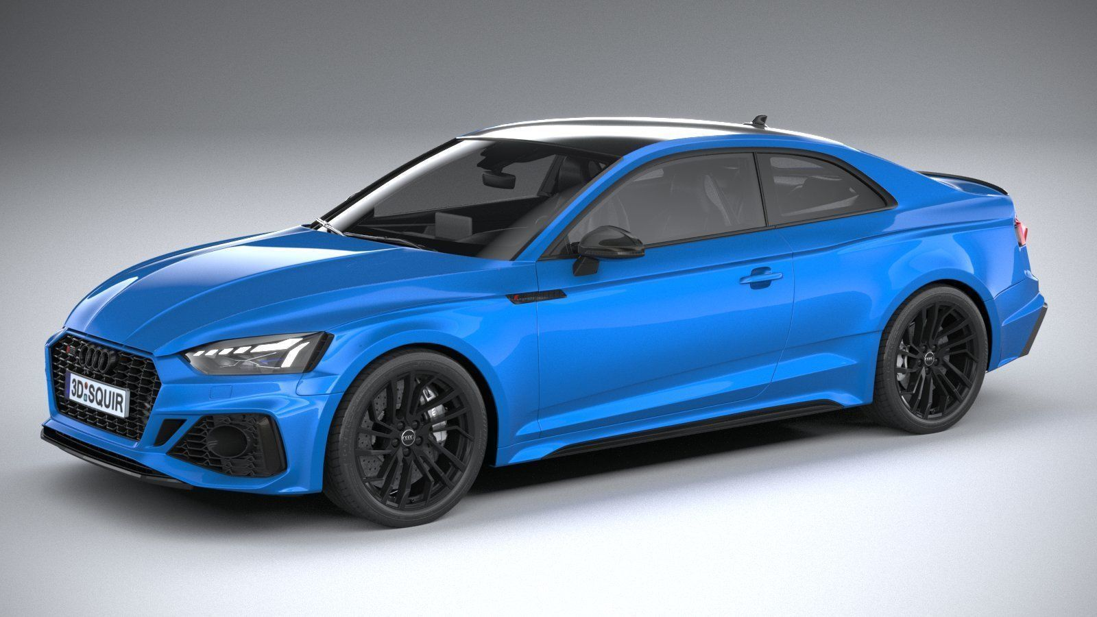 3D model Audi RS5 Coupe 2020   CGTrader