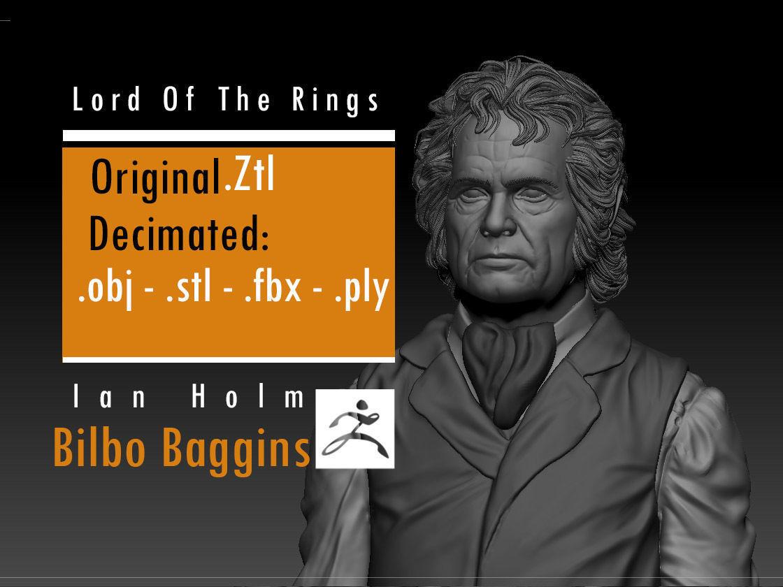 Ian Holm - Bilbo Baggins - Lord Of The Rings