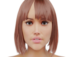 Female 3D asset