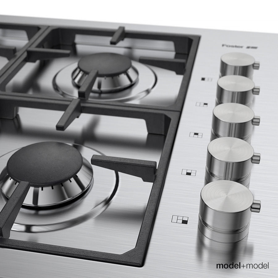Uncategorized Foster Kitchen Appliances foster gas cooktops 3d model max obj fbx mat 10