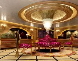 3D model Elegant lobby