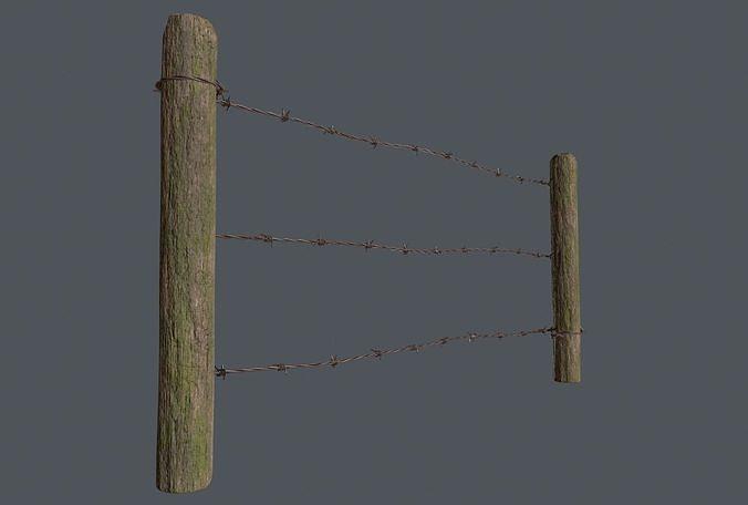 Wood Fence 02