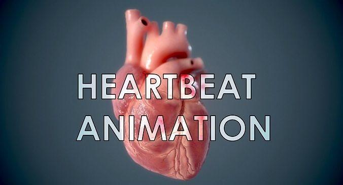 Human Heart - heartbeat animation