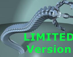 3D Robot Mechanic Arm - Limited