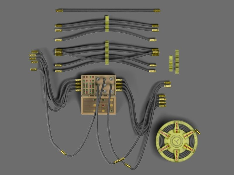 Controller and cables