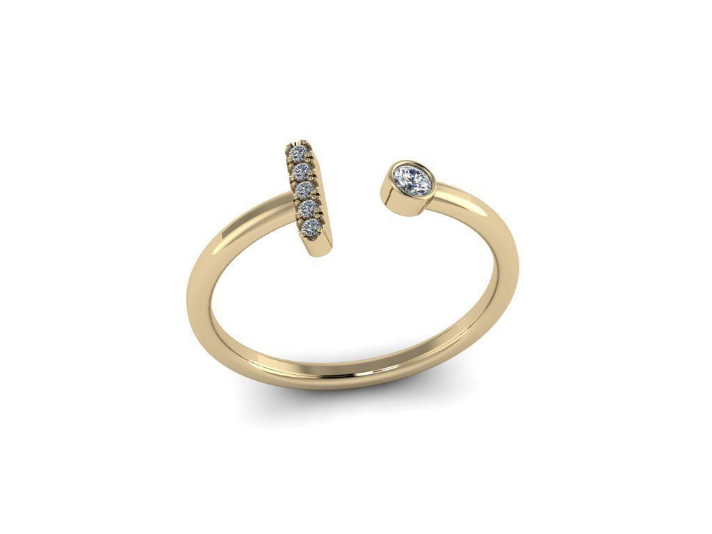 Letter Jewelry Ring