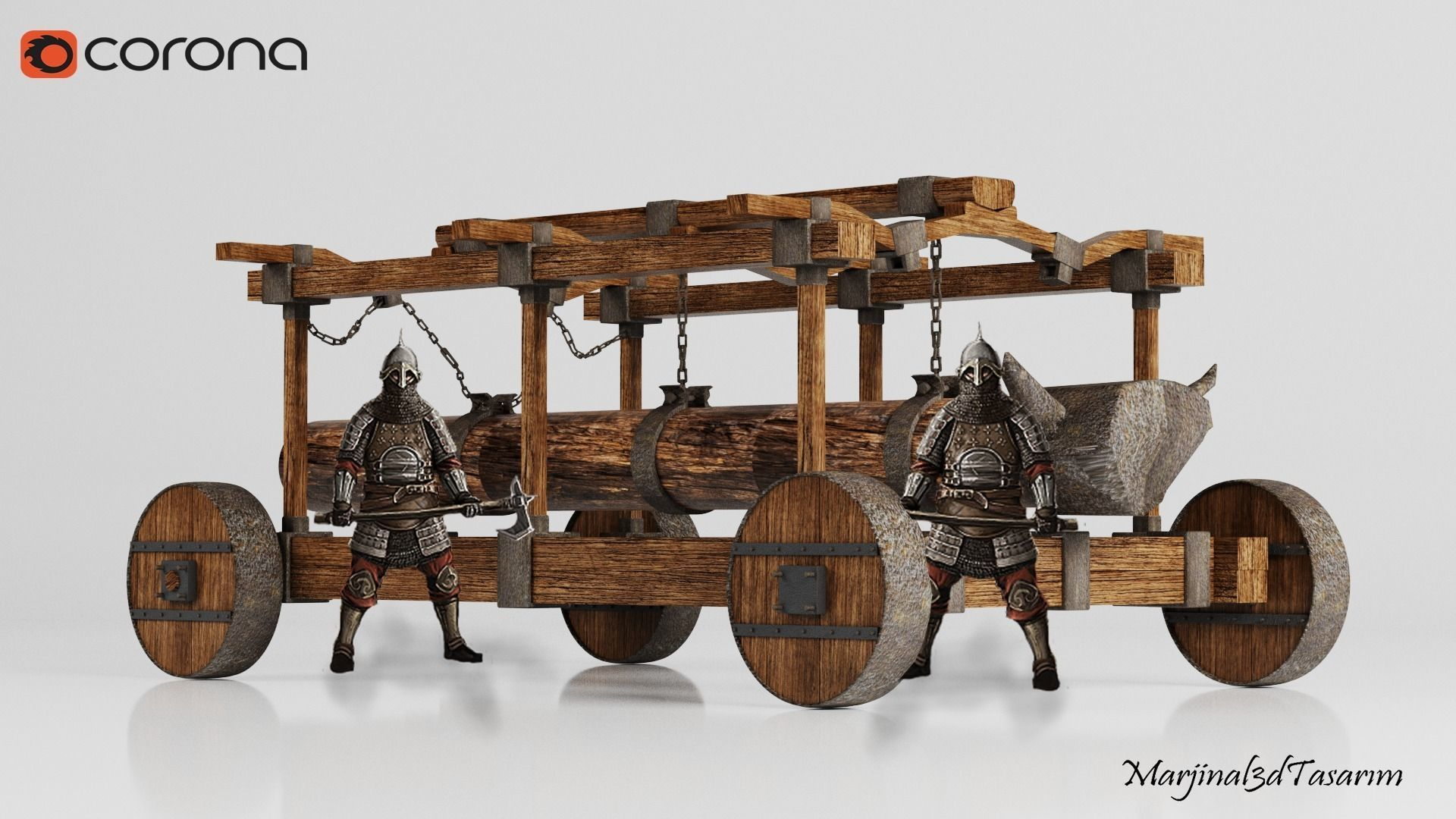 Medieval Ram Head