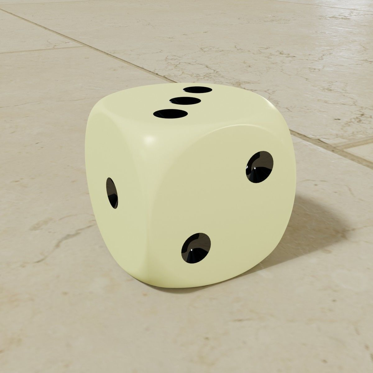 3D Dice Collection - Standard Die