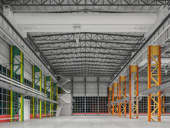 industrial building interior 01 3d model max obj mtl fbx 1