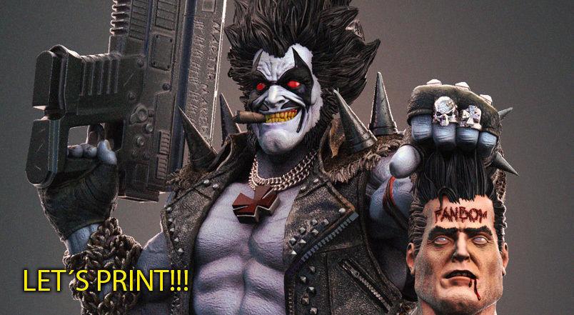 Lobo DC - collectible 3Dprint