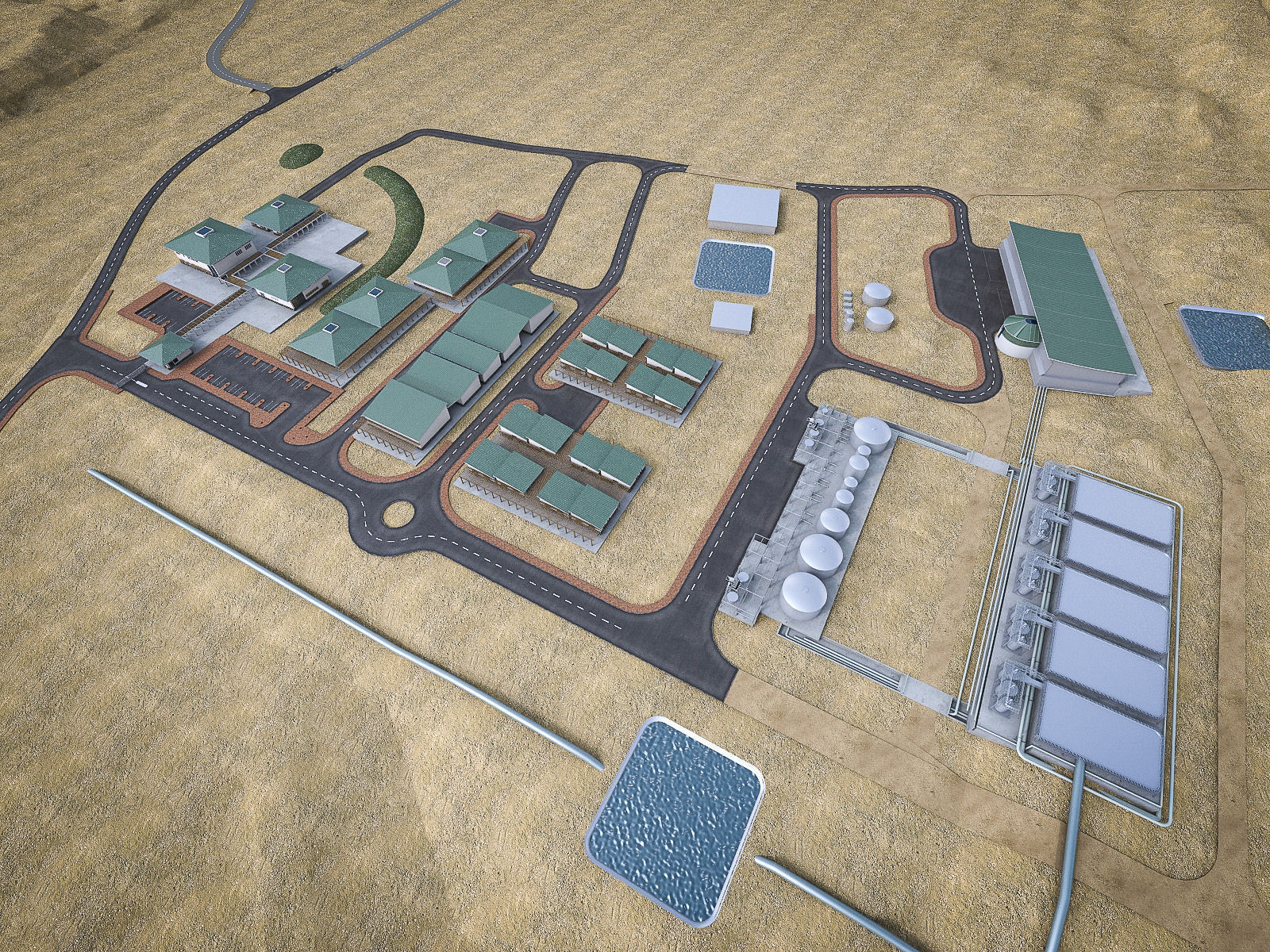 Industrial Mining Factory
