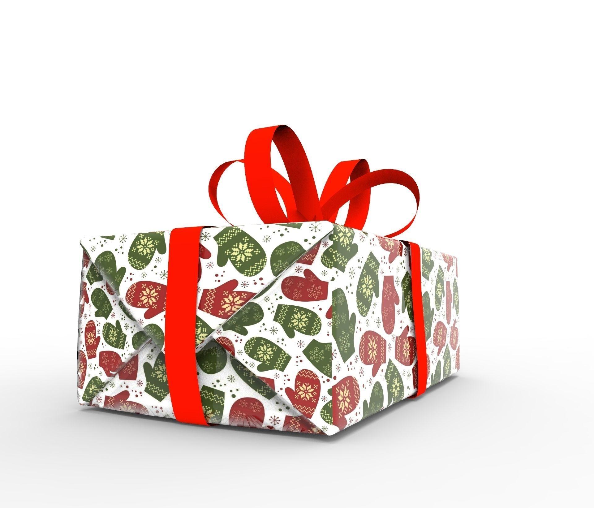Gift packing Christmas
