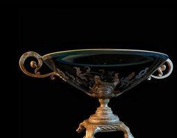 3d model glass vase 81
