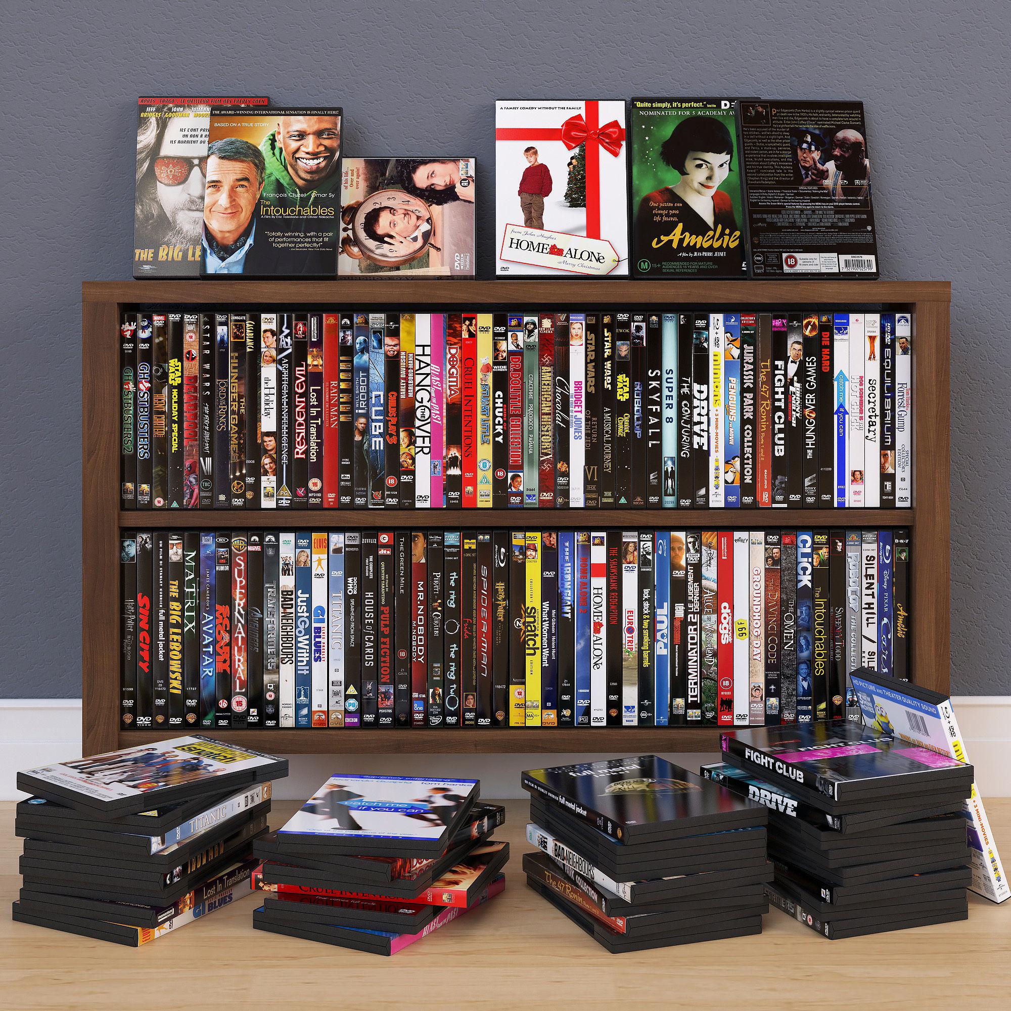 100 DVD Boxes